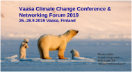 Read more: Vaasa Climate Change Conference and Networking Forum 2019